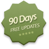 90 Days Free Product Updates