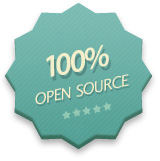 100% Open Source