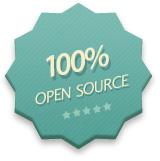100% Open Source