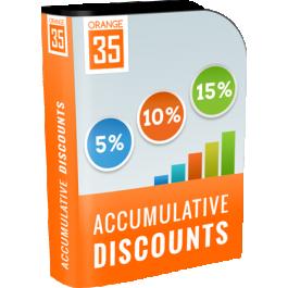 Magento Extension Accumulative Discounts