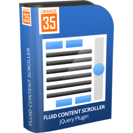 Fluid Content Scroller