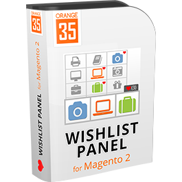 Ajax Wishlist Panel for Magento 2