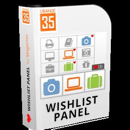 Magento Ajax Wishlist Panel Extension