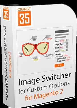 Magento 2 Image Switcher for Custom Options