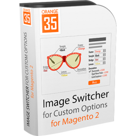 Magento 2 Image Switcher for Custom Options