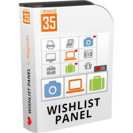 Magento Ajax Wishlist Panel