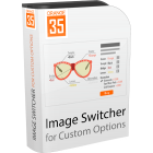 Magento Image Switcher for Custom Options