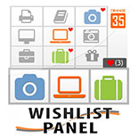 Ajax Wishlist Panel