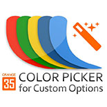 Color Picker for Custom Options