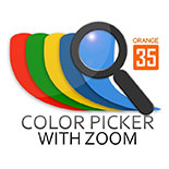 Color Picker with Zoom