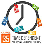 Time Dependent Shopping Cart Price Rules